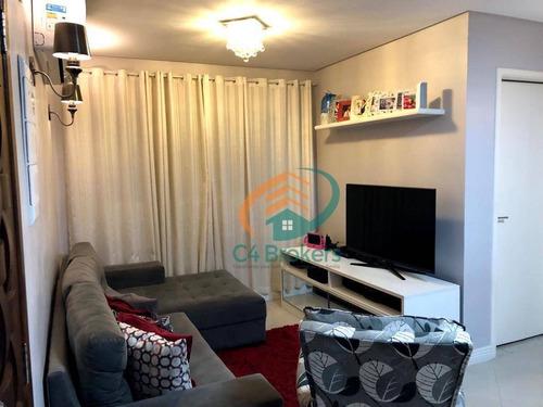 Casa À Venda, 120 M² Por R$ 480.000,00 - Vila Galvão - Guarulhos/sp - Ca0301