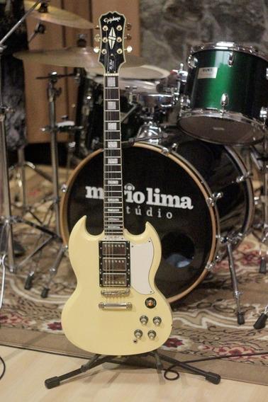 Guitarra EpiPhone Sg G-400 Custom + Hard Case Luxo