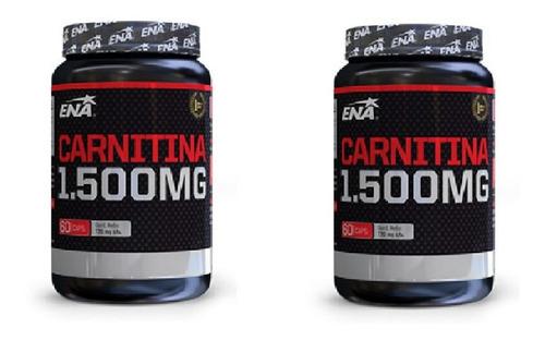 Carnitina 1500 Mg Ena - Quemador X 2 Unidades!