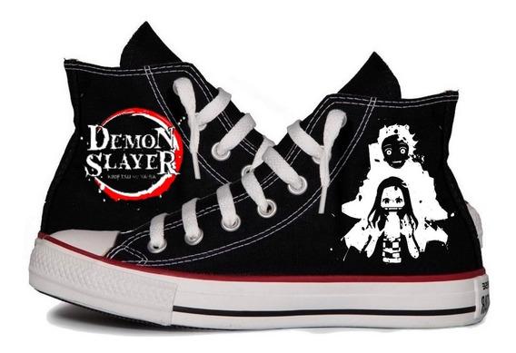 All Star Kimetsu No Yaiba Demon Slayer Anime Mod 2 Tênis