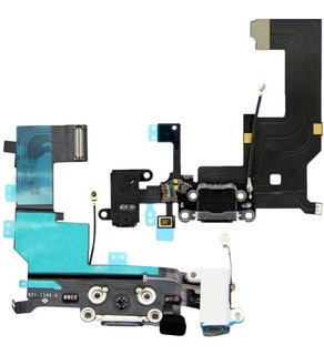 Conector De Carga Usb Cabo Flex Microfone iPhone 5s