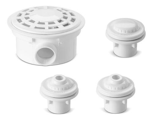 Imagem 1 de 4 de Kit Dispositivos Para Piscinas Vinil Nautilus Novo