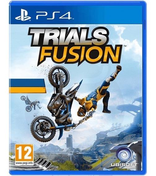 Game Trials Fusion Ps4 Midia Fisica Novo Lacrado Promoção