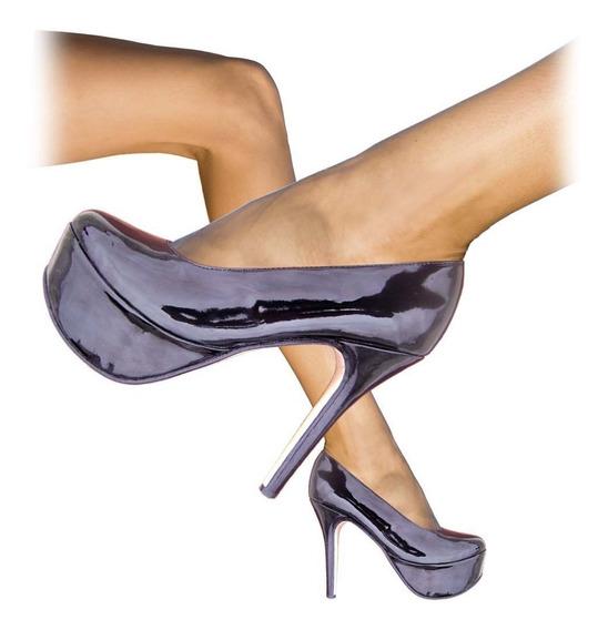 Zapatos Taco Alto Para Hombres Travestis Crossdressers Drags
