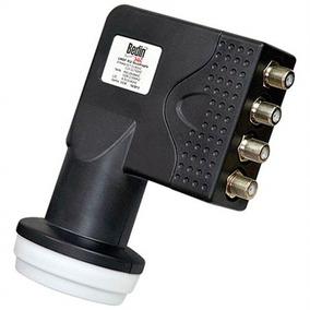 Lnbf Universal Ku Quádruplo Para Antenas 45 À 90cm Bedin Sat