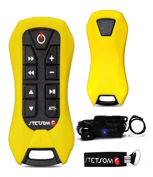Controle Longa Distância Sx2 Light Stetsom 200m Amarelo Full