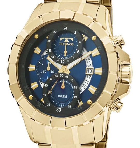 Relógio Technos Masculino Esportivo Legacy Dourado Js15em/4a