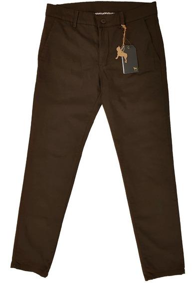 Pantalon Chino Saten Slim | Bravo Jeans (16129)