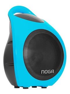 Parlante Portatil Bluetooth Karaoke Usb Sd 15w F905 Noga