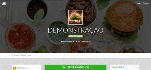 Script Plataforma Web App Delivery Lanchonetes E Pizzarias