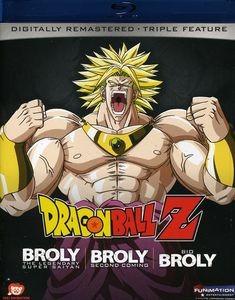 Blu-ray Dragon Ball Z: Broly Triple Feature