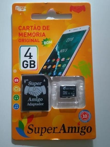 Cartão De Memória 4gb Super..