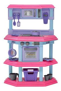 Mi Primera Cocinita Rosada - American Plastic Toys