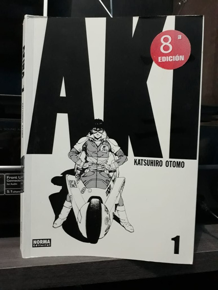 Akira Full Color N.º 01 - Mangá Totalmente Colorido