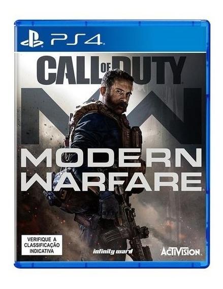 Call Of Duty Modern Warfare Ps4 Mídia Física Novo Lacrado