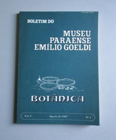 Boletim Do Museu Emílio Goeldi - Botânica - N.o 1