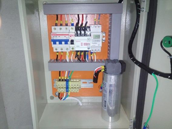 Quadro Painel Banco Capacitor 25kvar 380v - Semi Automático