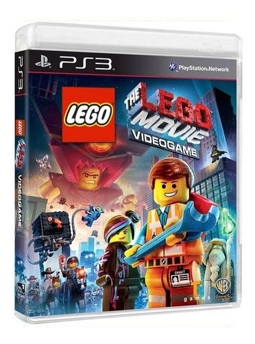 Lego The Lego Movie Videogame - Ps3 - Usado - Original
