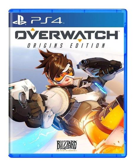Overwatch - Playstation4 - Mídia Física