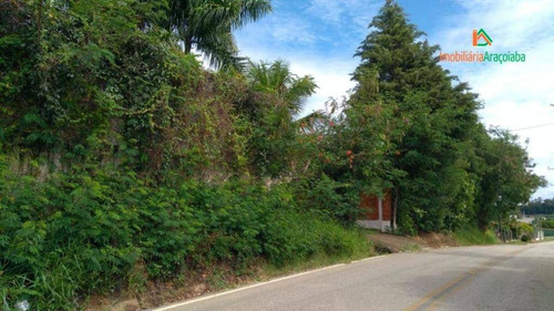 Chácara Com 2 Dormitórios À Venda, 740 M² Por R$ 200.000,00 - Aparecida - Araçoiaba Da Serra/sp - Ch0236