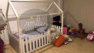 Cama Infantil Individual Montessori.- Corralhouse