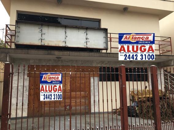 Casa Comercial Para Alugar, 283 M²- Centro - Guarulhos/sp - Cód. Ca2337 - Ca2337