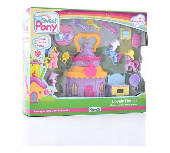 Sweet Pony Lovely House Origina Ditoys