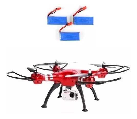 Drone Syma X8hg Full Hd 8.0mp 3 Baterias Não Acom. Caixa
