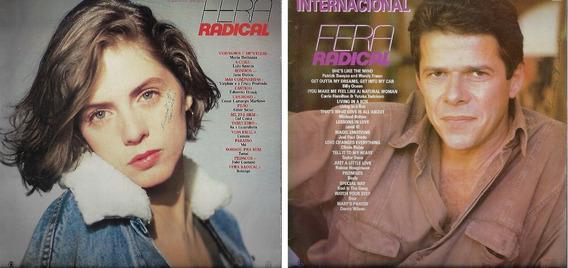 Disco De Vinil Lp Novela 1988 Fera Radical Nacional Internac