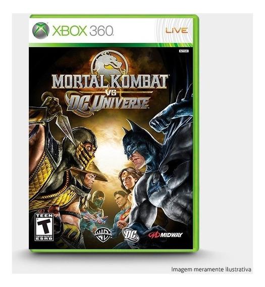 Mortal Kombat Vs. Dc Universe - Original Xbox 360 - Novo