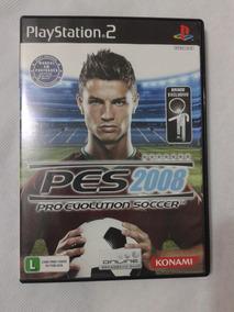 Jogo Original Pes 2008 Pro Evolution Soccer Ps2 Playstation