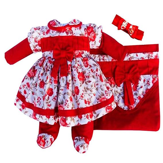 Saida Maternidade Menina | Roupas Recém Nascido - Lp