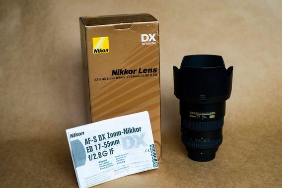 Lente Nikon 17-55mm F2.8 Afs Dx Para Cameras Apsc