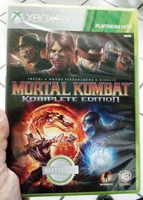 Jogo Mortal Kombat Komplete Edition Xbox 360 Original Lacrad