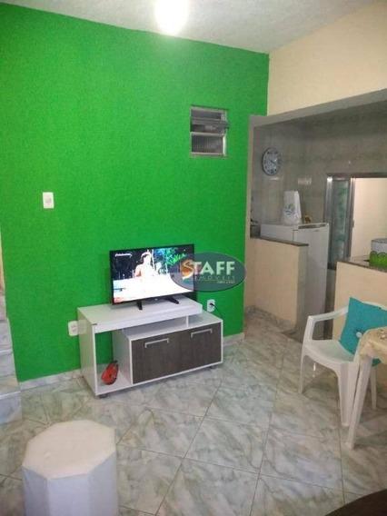 Casa Com 02 Dormitórios Para Aluguel Fixo, 80 M² Por R$ 1.400,00/mês - Bairro Gamboa - Cabo Frio-rj - Ca1236