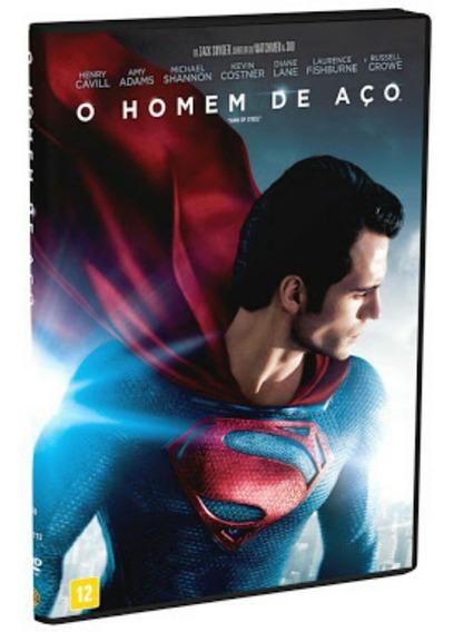 Dvd O Homem De Aço (português/inglês) Novo
