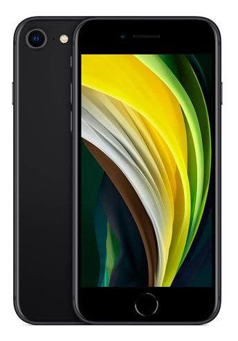 Imagem 1 de 1 de iPhone SE Preto, Com Tela De 4,7 , 4g, 256 Gb - Mhgw3br/a