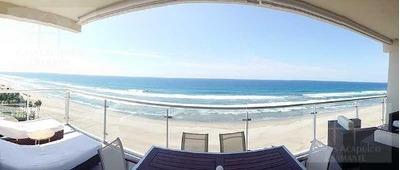 Cad Ocean Front 702. Exclusivo Departamento De Playa Para 10 Personas. Terraza, Vista Al Mar