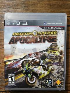 Motorstom Apocalypse Playstation 3 Ps3 Gran Estado !!