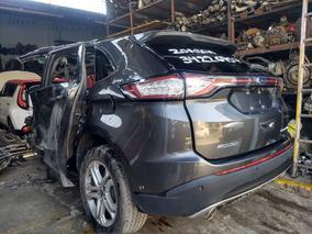 Ford Edge 2015 2016 2017 3.5 Titanium En Partes Refacciones