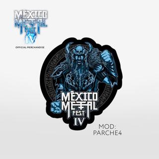 Parche Conmemorativo - Metal 4