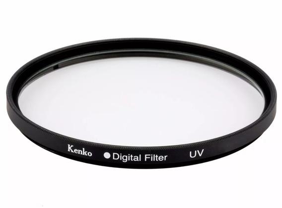 Filtro Uv 58mm Kenko P/ Câmeras Nikon Canon Sony Leica Ø58