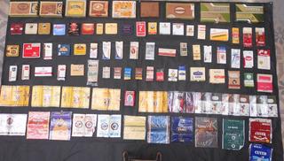 Lote 86 Antiguas Cajas Vacias Cigarros Y Tabacos