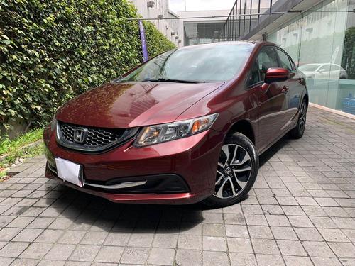 Imagen 1 de 15 de Honda Civic 2015 1.8 Exl Sedan Piel At