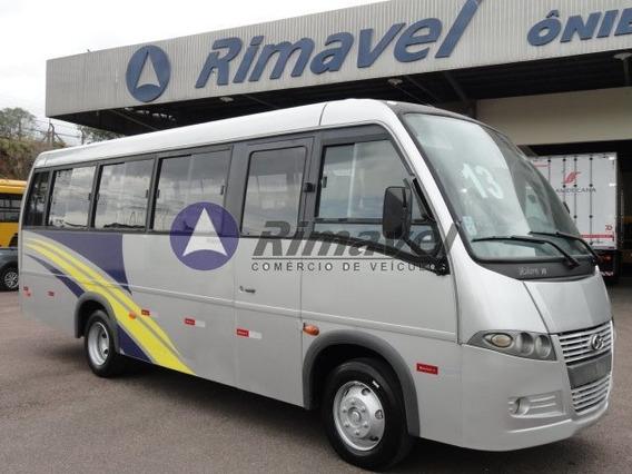 Micro Ônibus Rodoviario Volare V8l Ano 13/13 27 Lug. S/ Ar.