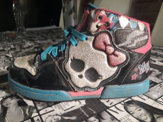 Zapatillas Niña Monster High. Importadas Originales N 32