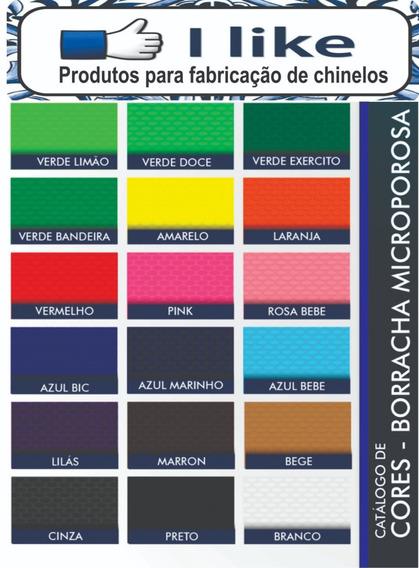Kit 5 Placas De Borracha Para Chinelos 90% I Like