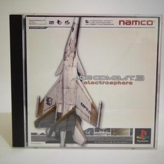 Ace Combat 3 - Ps1 - Original Japonês