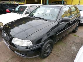 Volkswagen Gol 1.0 2000 Preta Gasolina