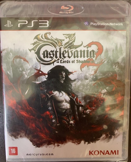 Jogo Castlevania Lord Of Shadow 2 Ps3 Midia Fisica